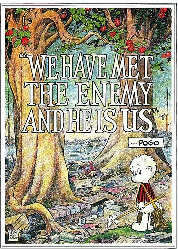 Walt Kelly's Earth Day Poster